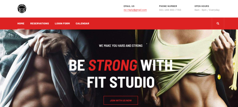 Joomla template for Gym and Fitness – JA Fit