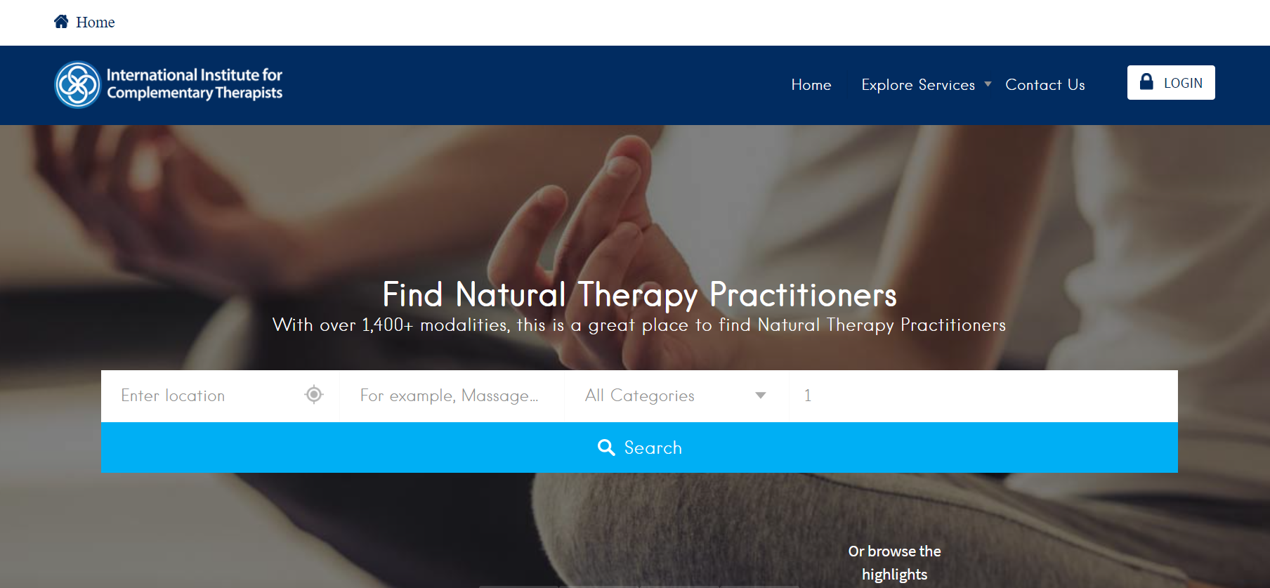 IICT Directory – International Institute for Complementary Therapist