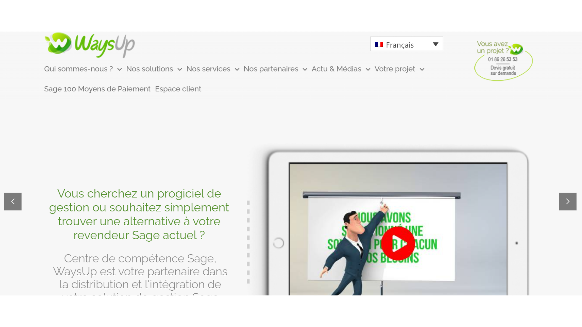 Accounting software, Sage accounting, Sage software in Paris, France